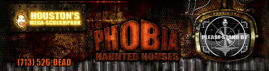 Phobia Haunted Houses 7 Haunts 1 Location Houston Tx House Attraction Event